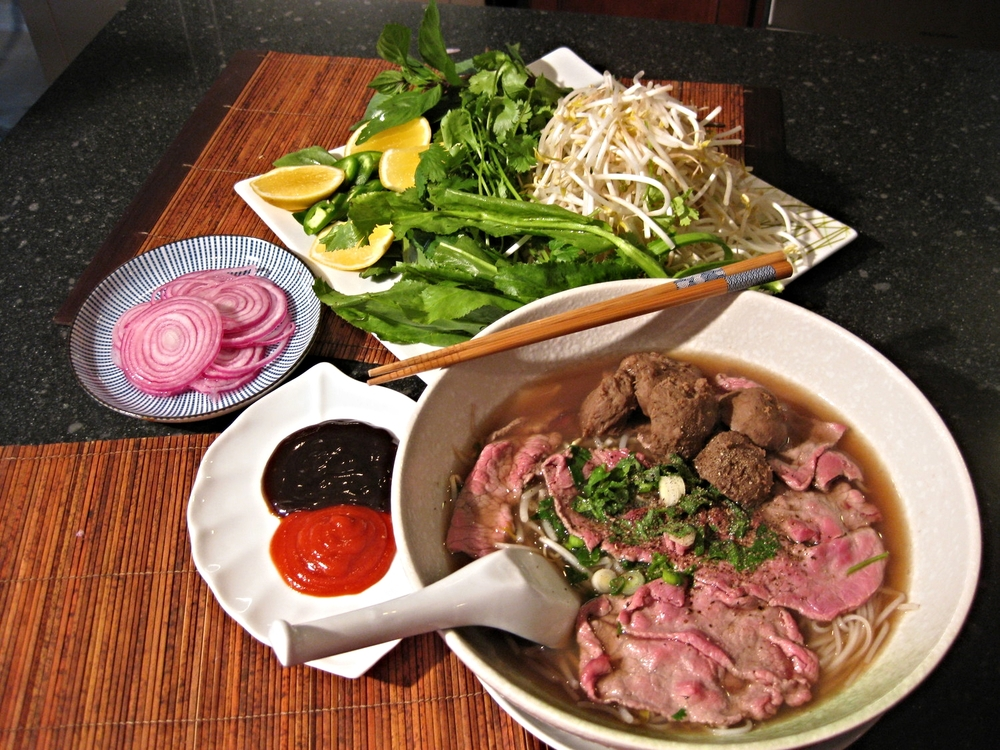 Quickie Pho, Vietnamese Beef Noodle Soup (Pho Nhanh)