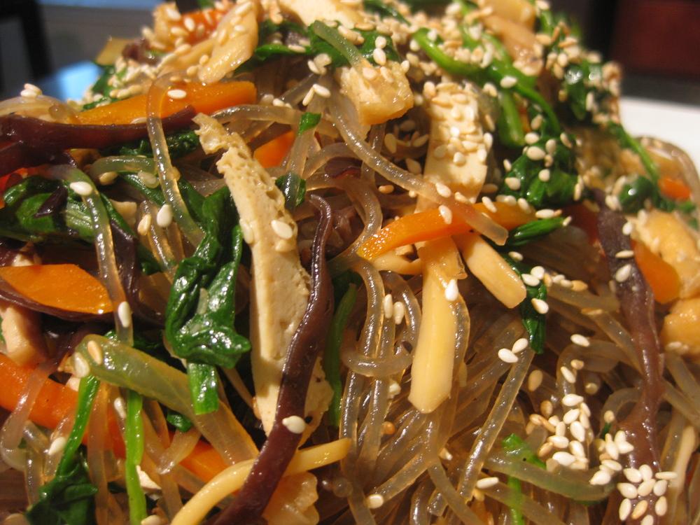 vegetarian glass noodle