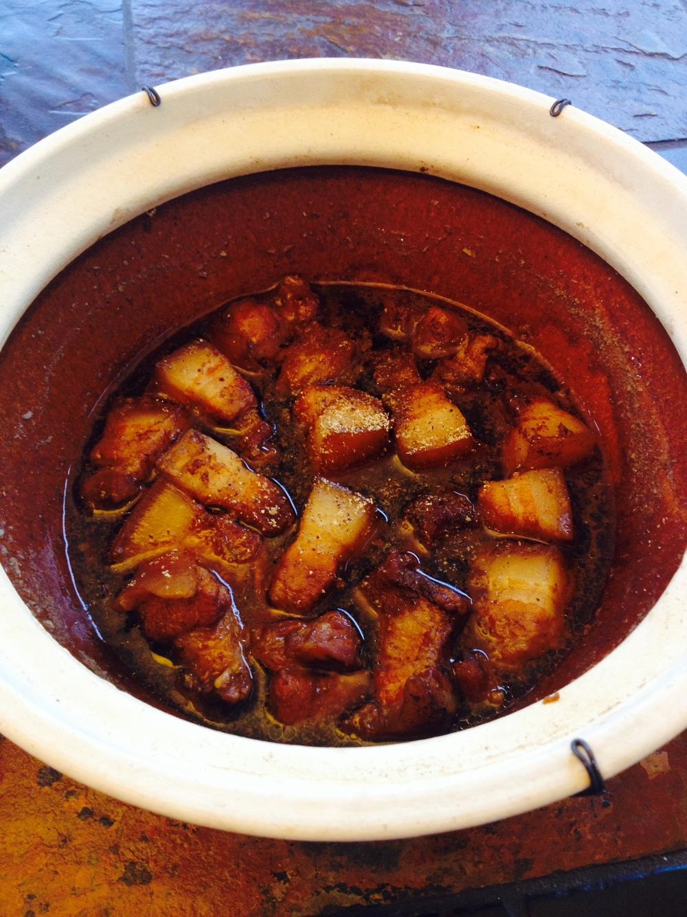 claypot pork belly