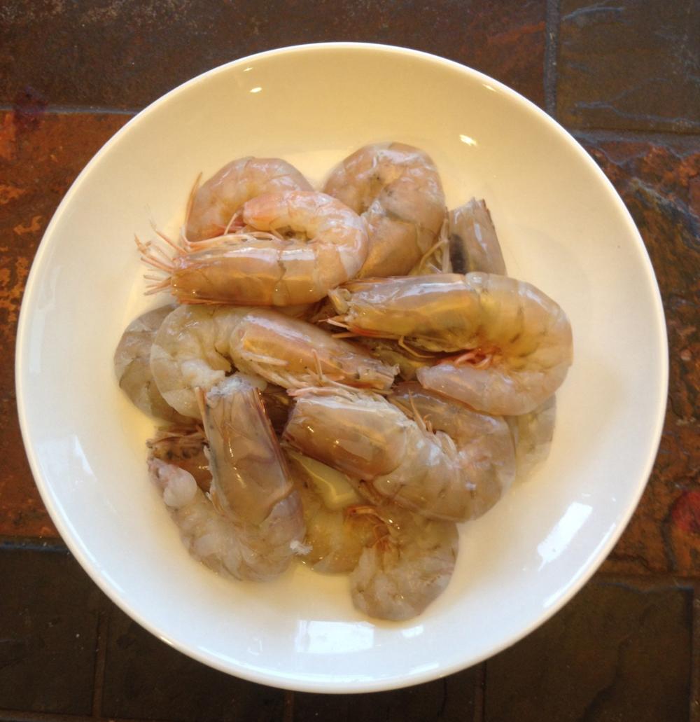 Jumbo shrimps for tom yum soup