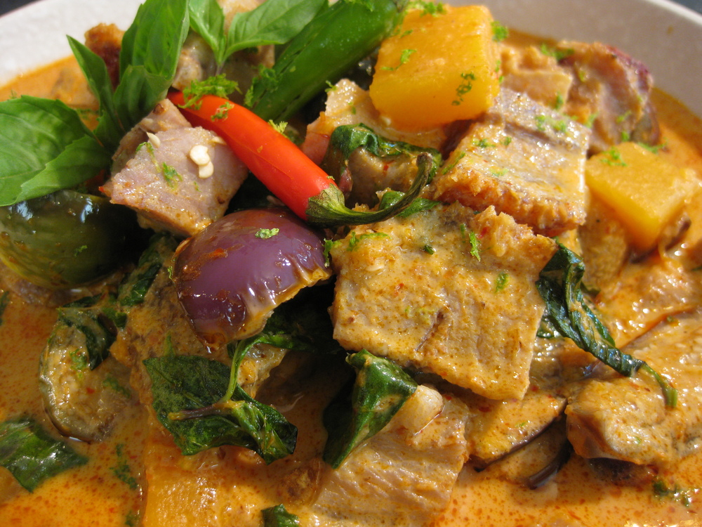 Red Curry and Roasted Pork