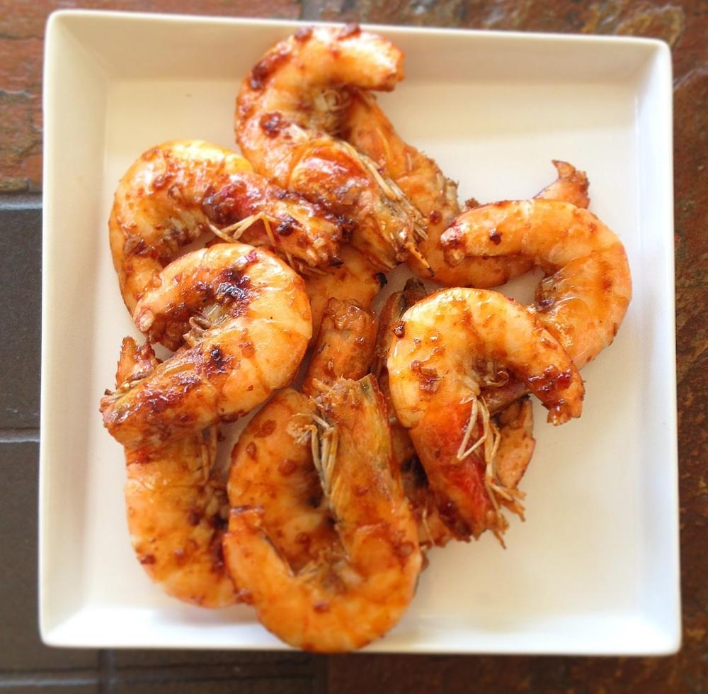 Super Bowl Garlic Shrimp