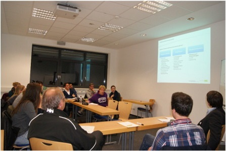Example of collaborative seminar at the Münster University of Applied Sciences. Photo by Sue Rossano