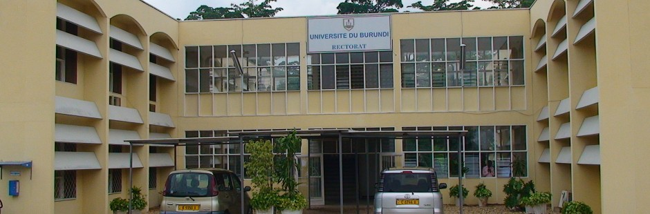 University of Burundi. Photo from http://www.ub.edu.bi/