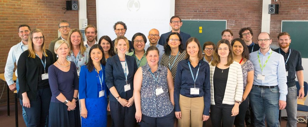 'The Politics of Higher Education, Research and Innovation' Standing Group @ ECPR 2018 in Hamburg. Photo credits: Mari Elken