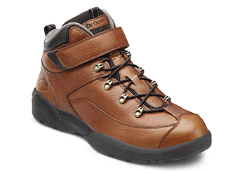 Ranger by Dr. Comfort Chestnut   Sizes: 6-15 (M, W, XW)     12.5, 13.5, 14.5 NOT avilable