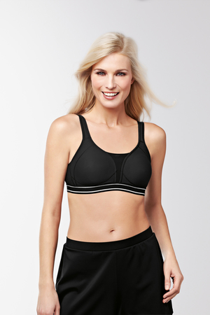 Performance Sports Bra : Black