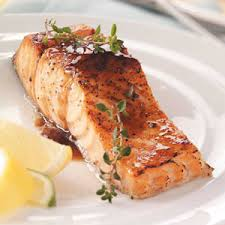 Salmon is loaded with Omega-3 properties, very important for healthy eyes