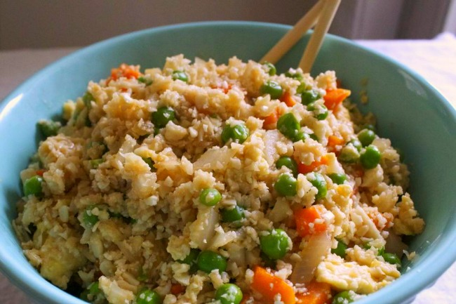 Cauliflower rice omni eye specialists a delicious recipe incorporating low glycemic foods and lots of vegetables perfect for any diabetic diet add any protein to this dish fish or shrimp would forumfinder Gallery