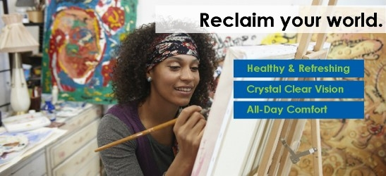 Reclaim your world, your sight, your everything.....at Omni Eye Specialists