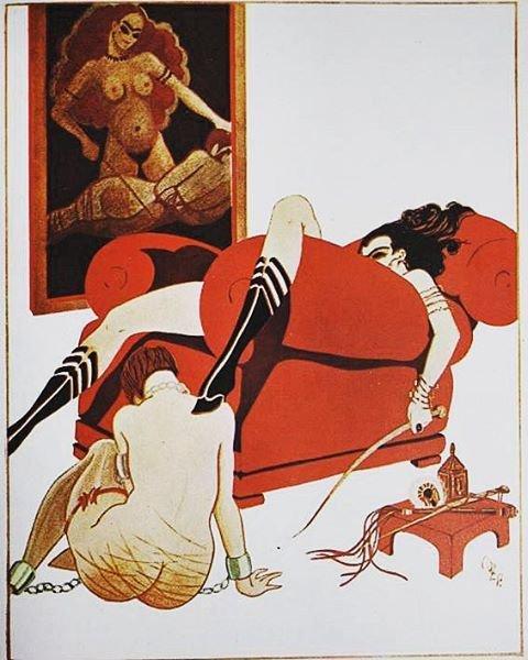Flagellantisches Boudoir 1920s Z. Phegor.jpg