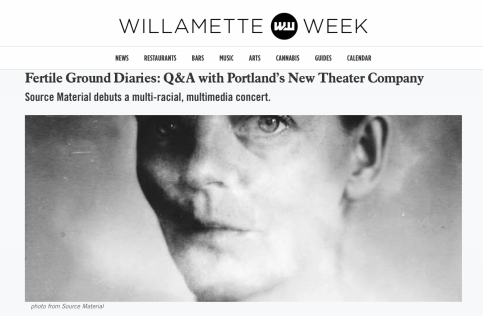 Willamette Week // Samantha Shay Interview