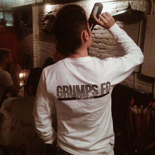 GRUMPS FC BRANDING