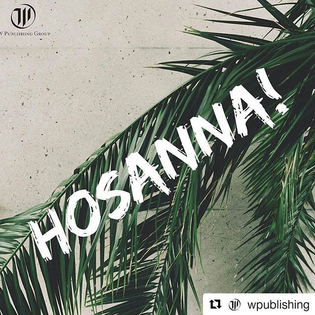 "I'm a day late posting this but Palm Sunday is a very important time in the Easter story, and we certainly should not forget about it! Have a great week everyone and Happy Monday! #Repost @wpublishing with @repostapp #PalmSunday #Hosanna ・・・ PALM SUNDAY // ""They took palm branches and went out to meet him, shouting, ""Hosanna! "" ""Blessed is he who comes in the name of the Lord!"" ""Blessed is the king of Israel!"""" ‭‭John‬ ‭12:13‬ //"
