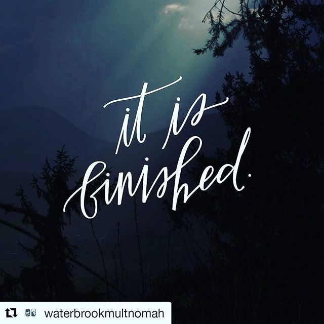 "Jesus Christ died on the cross for sinners like you and me, so that we wouldn't have to suffer the pain of sin and darkness. Remember that as you go about your Good Friday.  #Repost @waterbrookmultnomah with @repostapp ・・・ ""And walk in love, as Christ loved us and gave himself up for us, a fragrant offering and sacrifice to God."" Ephesians 5:1 (ESV) . . . #GoodFriday #ItIsFinished #TheGreatestGift #Jesus"