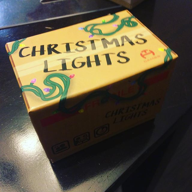It's now 1 week until our Kickstarter of Christmas Lights. Look for it on May 17. #kickstartergames #bgg #boardgames #tabletop