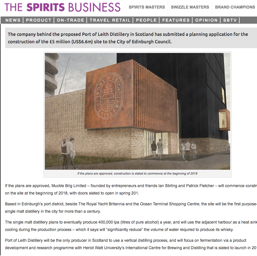 THE SPIRITS BUSINESS - 29/09/17 - NEWS