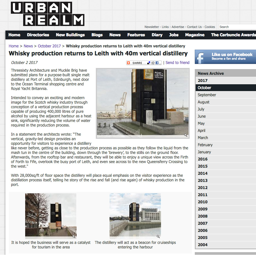 URBAN REALM - 02/10/17 - NEWS