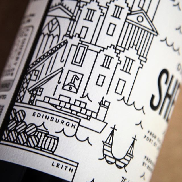 If you've ever taken a good look at our Oloroso Sherry label, you may have noticed the depiction of our future whisky distillery by the harbour in Leith.  #leith #edinburgh #leithdistillery #sherry #oloroso #sherrylover #wine  #distillery #spain #scotland