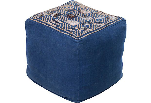 color. me. quirky. poufs