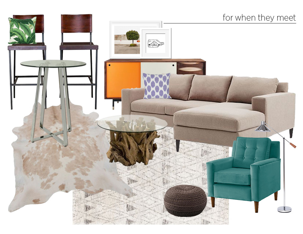 color. me. quirky. two bar stools // three ways