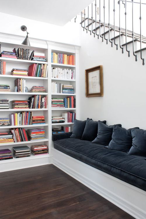 color. me. quirky. reading nook