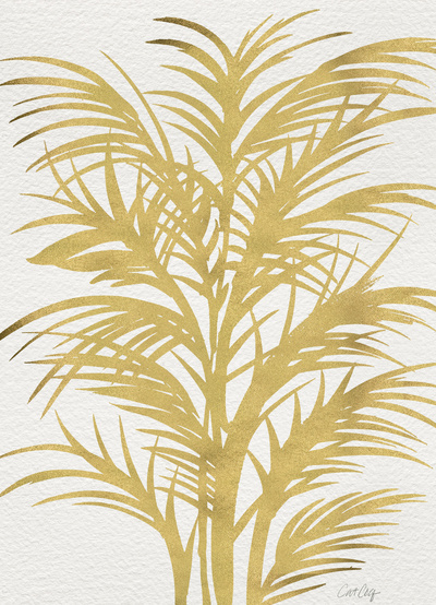 Gold Palms,  Cat Coquillette