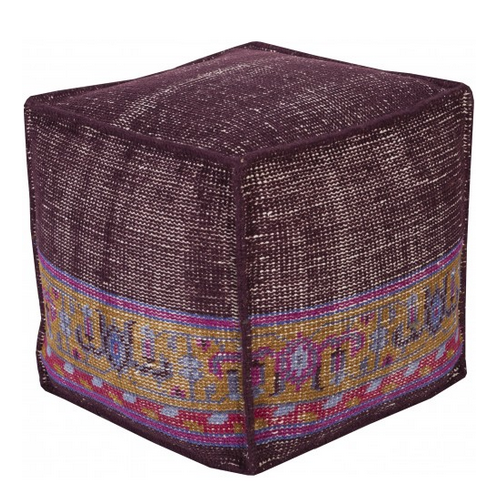 Tamil Pouf, Purple