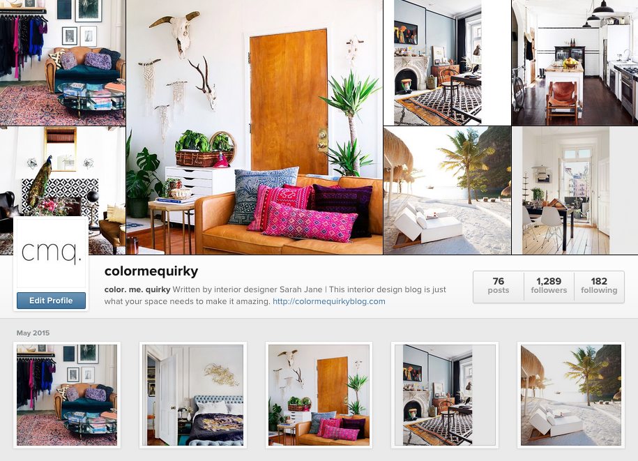 color. me. quirky on instagram. Be awesome & follow!