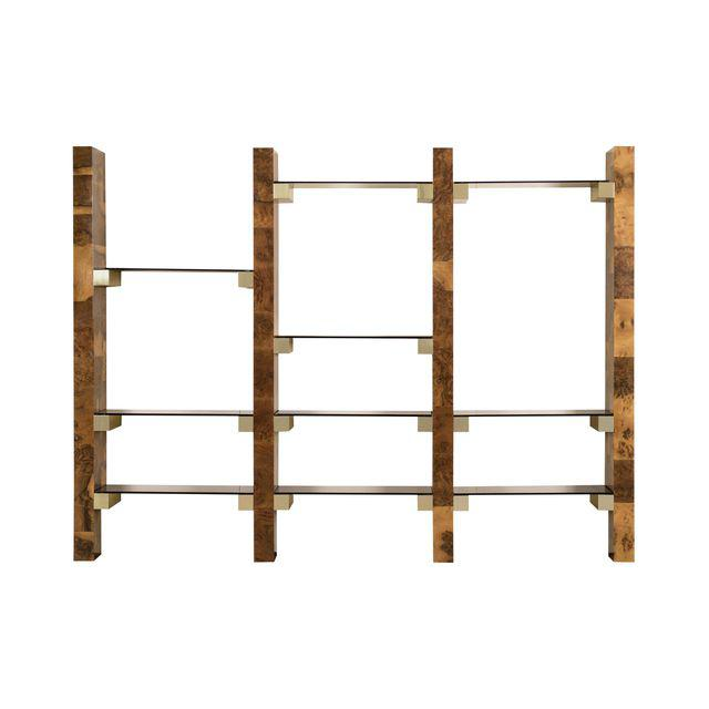 Paul Evans Wall-mounted book shelves