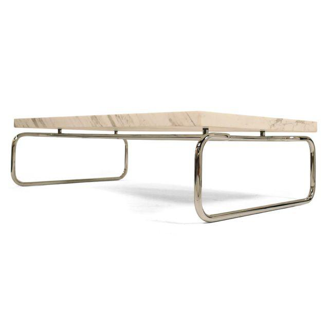 Michael McCarthy marble cocktail table