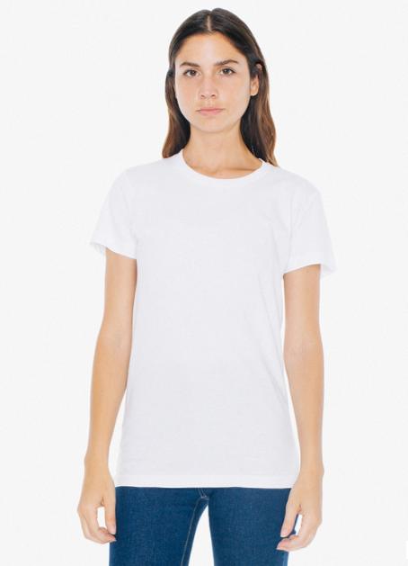 A.A White T-Shirt