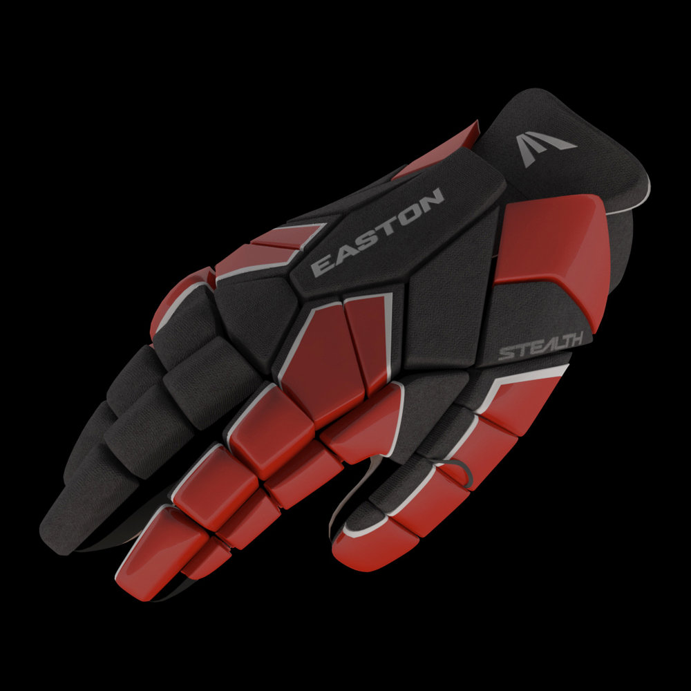Easton Lacrosse Glove Dark
