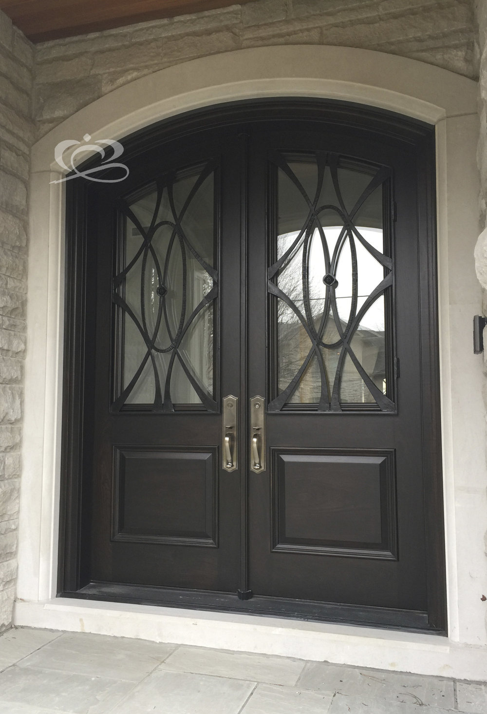 & Double Grand Entrance Doors u2014 Corona Architectural Windows u0026 Doors Inc.