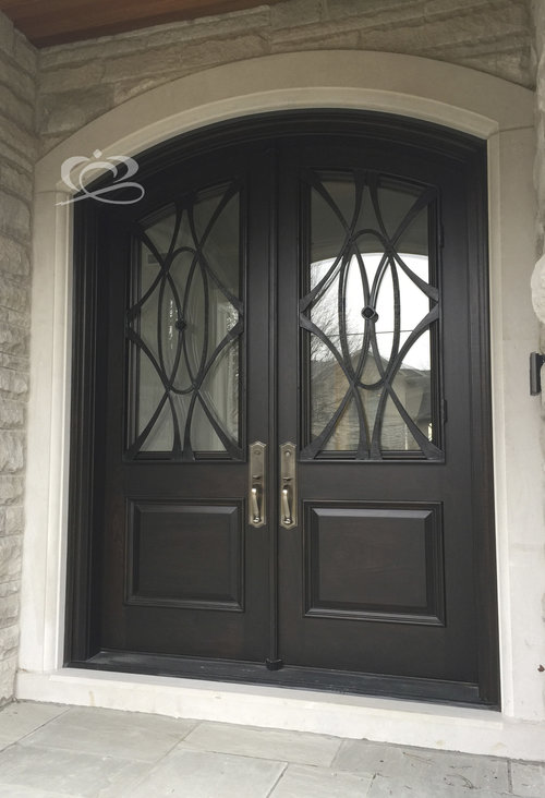 Double Grand Entrance Doors Corona Architectural Windows Doors Inc