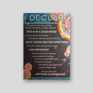 Bethel Kids Declaration   Poster  $7
