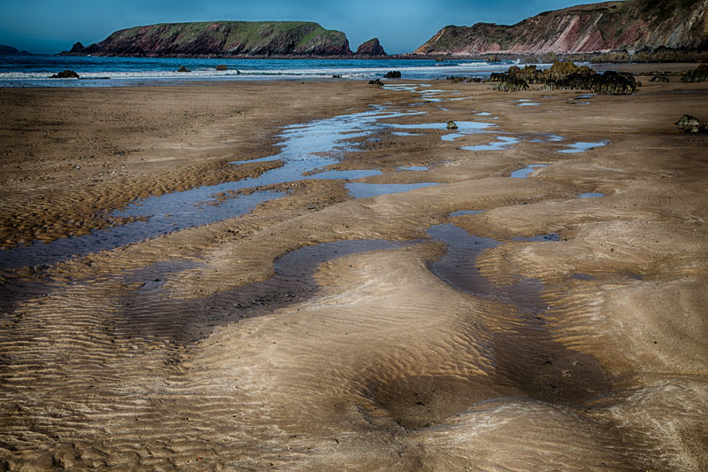 Marloes Sands, ripples.