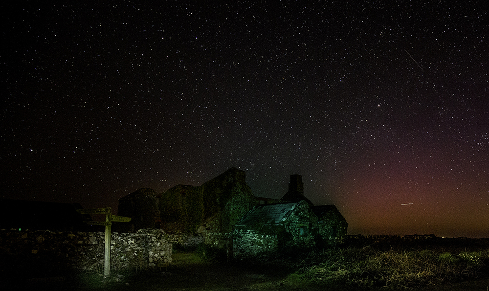 The old farm building on Skomer.