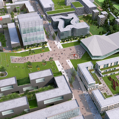 Weifang Science and Technology University Master Plan