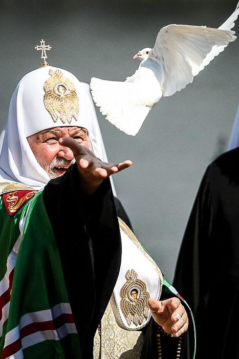 Патриарх Кирилл, Киев, 2012г.