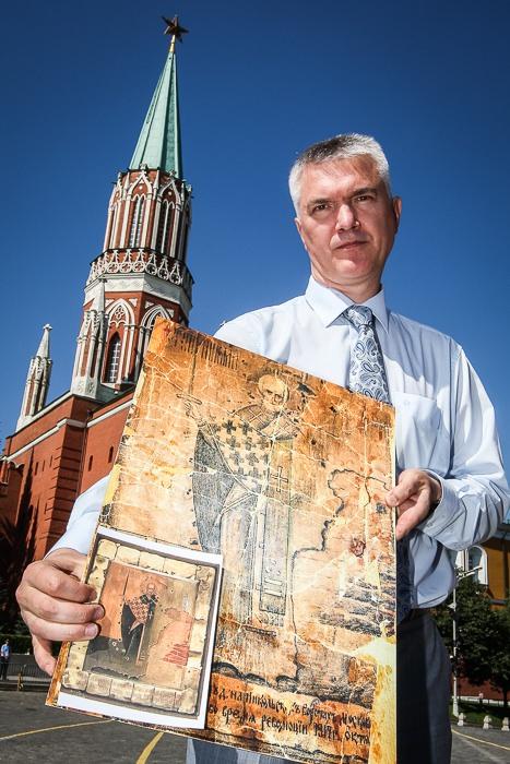 Восстановление надвратных икон Московского Кремля. 2010