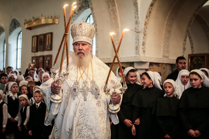 Патриарх Алексий II в ММО.