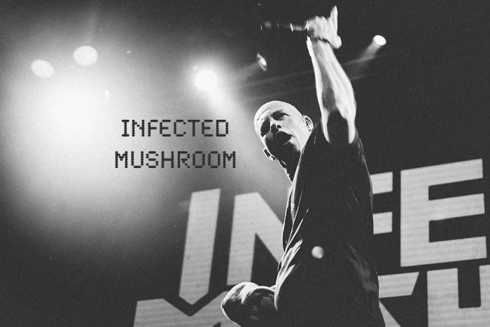 Фотосъемка концерта Infected Mushroom.