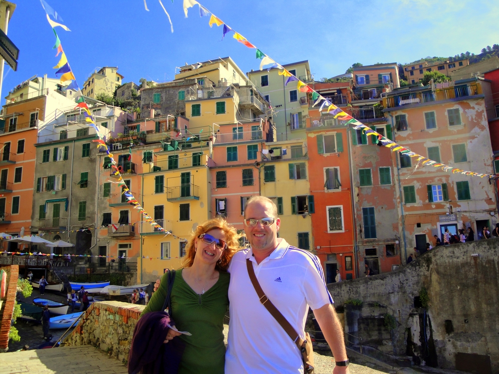 Russ and Elke in Cinque Terre