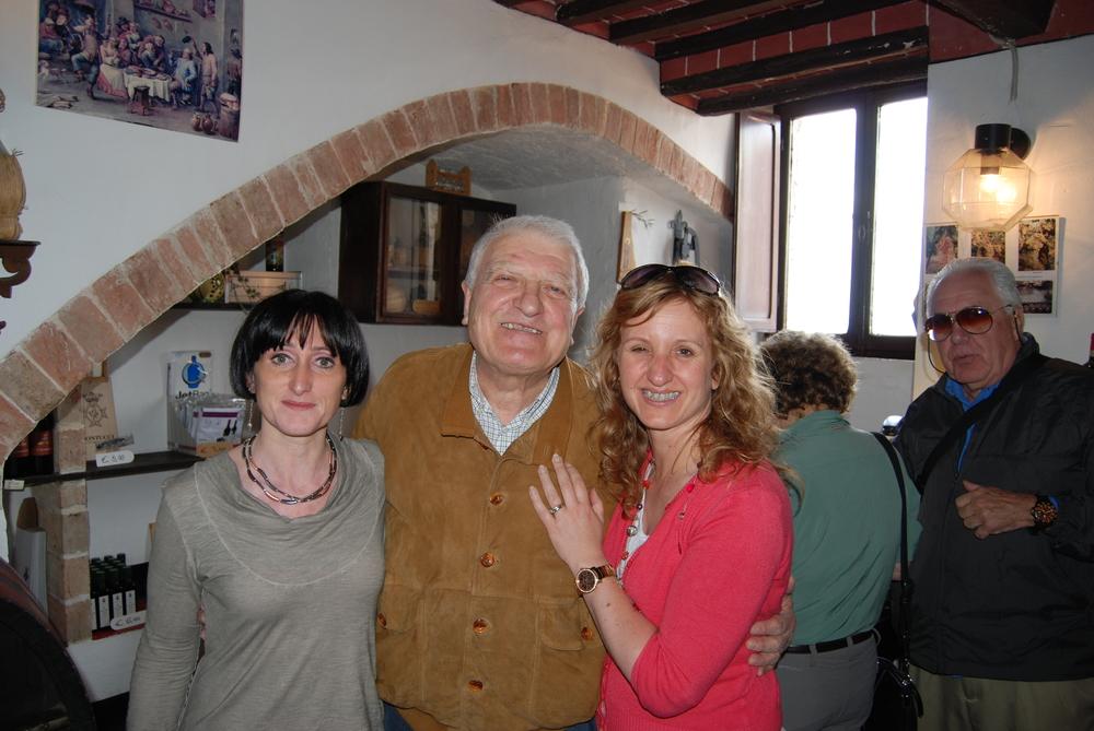 Elke with Adamo and Adamo's lovely neice