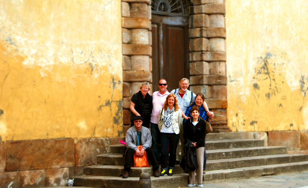 Our Group in Lucca