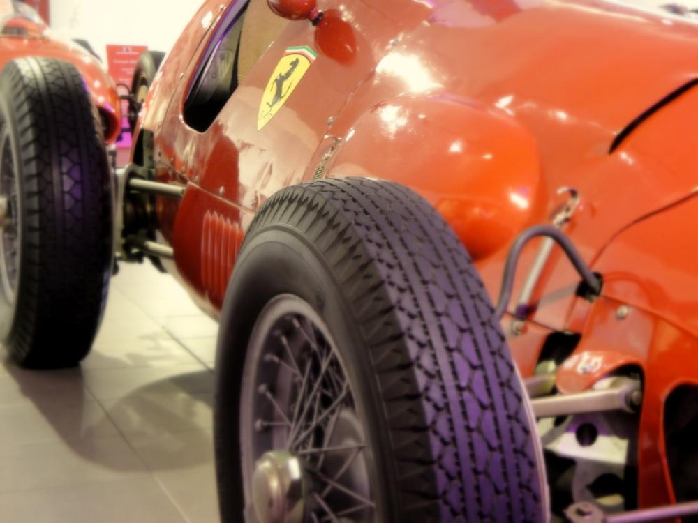 J.M. Fangio's Championship winning car