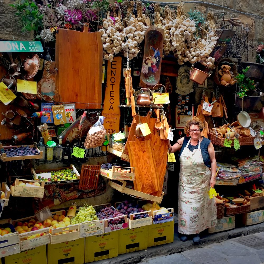 The most amazing kitchenware shop in Florence