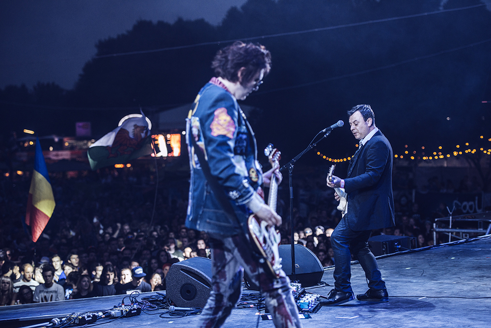 Being on-stage to shoot The Manic Street Preachers was a pinch yourself moment, a 13 yr old me would of never of dreamed I'd ever be in that position.