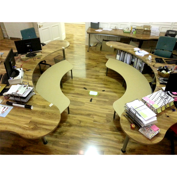 Circular Seating Area - Benches